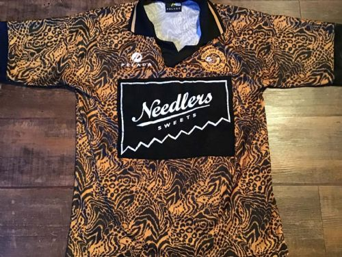 1994 1995 Hull City Home Football Shirt Large